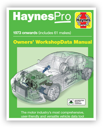 HaynesPro WorkshopData Owner's Manual