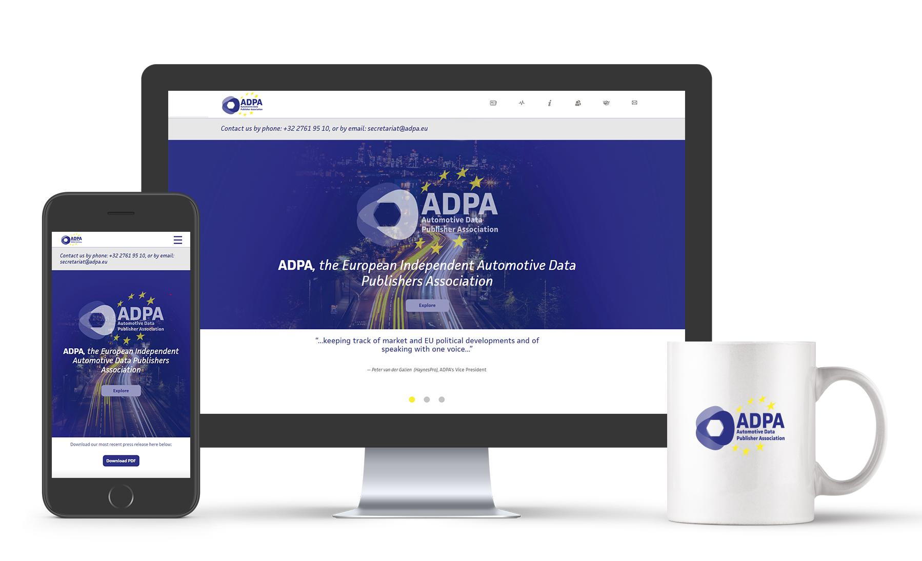 The new Automotive Data Publisher Association (ADPA) website is now online!